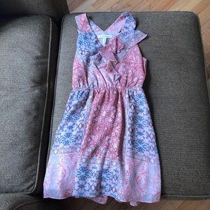 BcbGeneration Dress XXS or 2XS pink pattern
